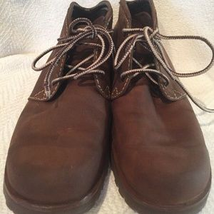 Timberland Nubuck Leather Ankle Boot Women's Sz 10